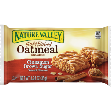 Nature Valley Soft Baked Cinnamon Brown
