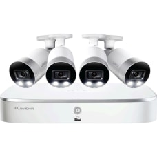Lorex NK183 48ABE NVR cameras wired