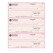 Custom Laser Multipurpose Draft Checks With