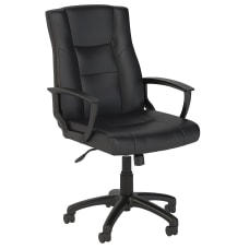 Bush Business Furniture Accord Bonded Leather