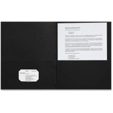 Sparco 2 pocket Leatherette Portfolio Letter