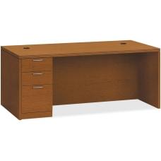 HON Valido Left Pedestal Desk 72