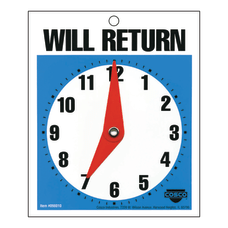Cosco Will Return Clock Sign 5