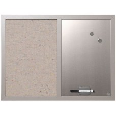 MasterVision Magentic FabricDry EraseBulletin Board 18
