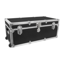Advantus Stackable Footlocker Trunk With Wheels