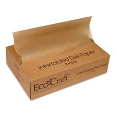 Bagcraft EcoCraft Interfolded Soy Wax Deli