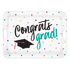 Amscan Graduation Yay Grad Melamine Serving