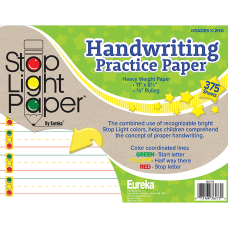 Eureka Stop Light Practice Paper 8