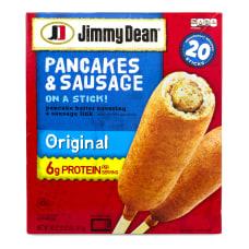 Jimmy Dean Pancakes Sausage On A
