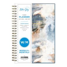 Blue Sky Polypropylene Academic WeeklyMonthly Planner