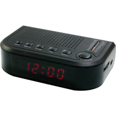 Sylvania SCR1388 Desktop Clock Radio AM