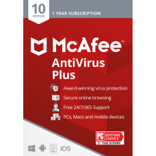 McAfee AntiVirus Plus For PC or