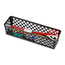 OIC Plastic Supply Baskets Small Size