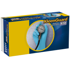 Kleenguard G10 Blue Nitrile Gloves Small