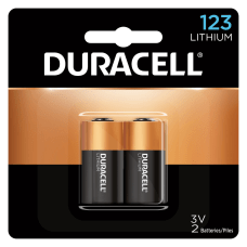 Duracell Photo 3 Volt 123 Lithium