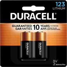 Duracell Photo 3 Volt Lithium 123