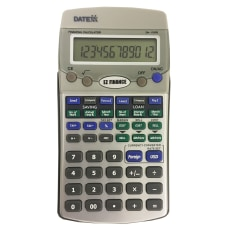 Datexx DH 170FS EZ Financial Calculator