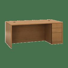 HON 10500 H105895R Pedestal Desk 3