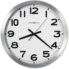 Howard Miller Round Wall Clock Analog
