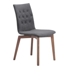 Zuo Modern Orebro Dining Chairs Graphite