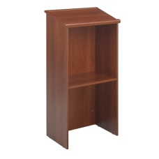 Safco Stand Up Lectern Cherry