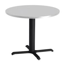 Mayline Bistro X Table Base 28