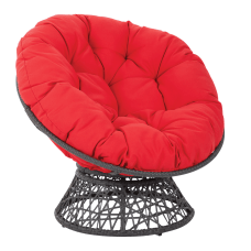 Office Star Papasan Chairs RedBlack