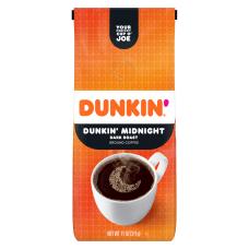 Dunkin Donuts Ground Coffee Dunkin Dark