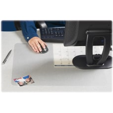 Artistic KrystalView Desk Pad With Antimicrobial