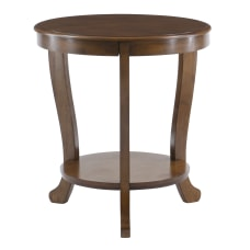 Powell Heller Side Table With Shelf