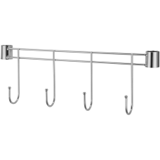 Lorell 4 Hook Rack For Industrial