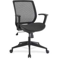 Lorell Mid Back Work Chair Mesh