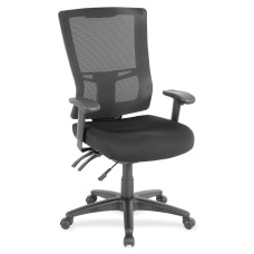 Lorell Multifunction High Back Chair Mesh