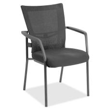Lorell MeshFabric Mid Back Guest Chair