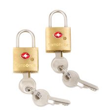 Samsonite Luggage Key Locks Brass Pack