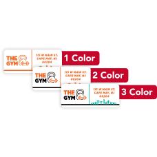 1 2 Or 3 Color Custom
