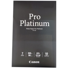 Canon Pro Platinum Photo Paper 13