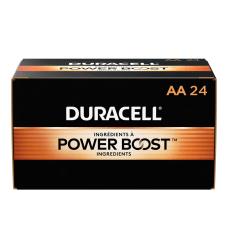 Duracell CopperTop Alkaline Batteries AA Box