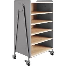 Safco Whiffle Double Column 4 Shelf