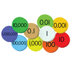 Sensational Math 10 Value Jumbo Magnetic