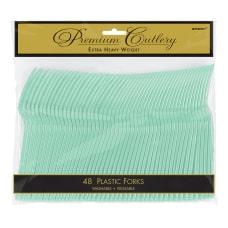 Amscan Premium Plastic Forks 7 14
