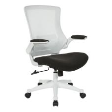 Office Star WorkSmart Manager Chair WhiteBlack