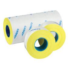 Garvey Price Marking Labels Fluorescent Yellow