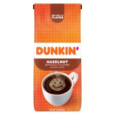 Dunkin Donuts Hazelnut Ground Coffee 12