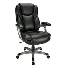 Realspace Cressfield Bonded Leather Executive High