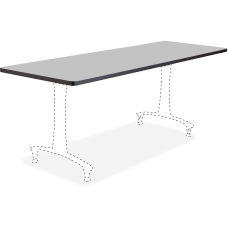 Safco Rumba Training Table Tabletop Gray