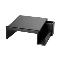 Rolodex Wood Tones Phone Stand Black