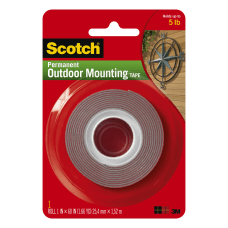 Scotch Permanent Heavy Duty Outdoor Mounting