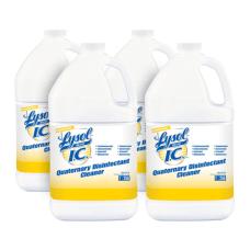 Lysol Quaternary Disinfectant Cleaner Liquid 128