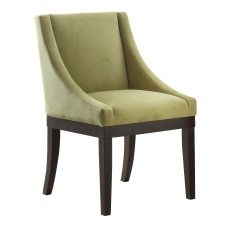 Ave Six Monarch Wingback Chair BasilEspresso